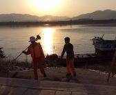 ชาวบ้านห้วยลึก-เจ้าหน้าที่ทางการงง เรือสำรวจจีนเทียบท่าบ้านห้วยลึก ไร้การแจ้งจากหน่วยเหนือ
