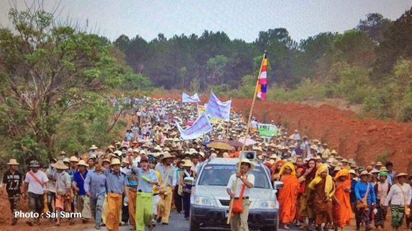 ไม่ฟังเสียงประชาชน รัฐบาล NLD อนุญาต 2 บริษัทเดินหน้าขุดถ่านหินในเมืองกึ๋ง ทางใต้รัฐฉาน แม้ชาวบ้านออกมาคัดค้านหลายครั้ง