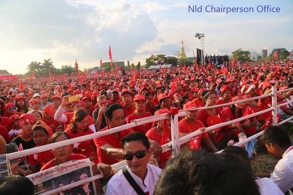 ภาพจาก เฟซบุ๊ก  NLD Chairperson