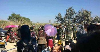 ผู้อพยพบริเวณชายแดนจีน (ภาพจาก Toung Hwe Li Group)
