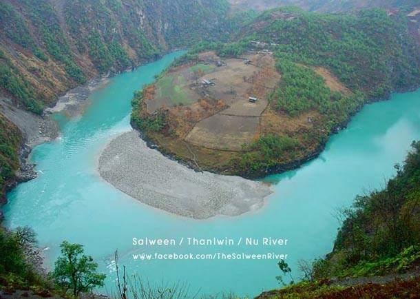 ภาพโดย Salween/Thanlwin/Nu River / Facebook