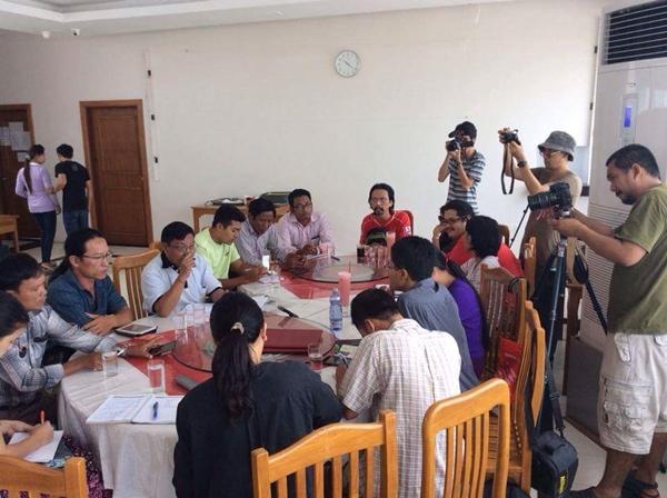 สื่อมวลชนไทยสนทนากับภาคประชาสังคมมะริด