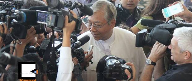 นายอูตินจ่อ (ภาพโดย Kamaryut Media)