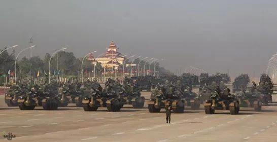 ภาพจากเฟซบุค Myanmar Army