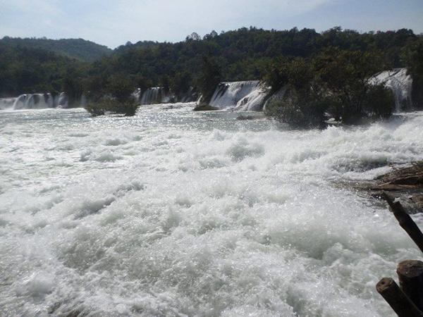 เมืองพันเกาะที่คาดว่าจะถูกน้ำท่วมหากมีการสร้างเขื่อนเมืองโต๋น (ภาพโดย โดย Sai Su Seng)