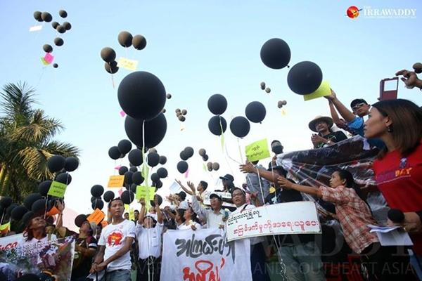 ภาพจาก Irrawaddy
