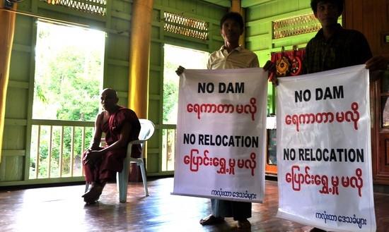 หมู่บ้านที่ต้องอพยพจากเขื่อนเพื่อส่งน้ำไปยังเขตเศรษฐกิจพิเศษยืนยันไม่ย้ายออกจากพื้นที่