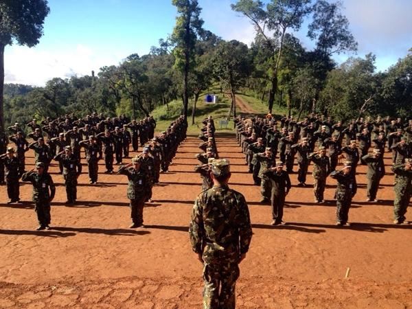 ภาพจาก เฟซบุ๊ค Shan State Army (SSA)