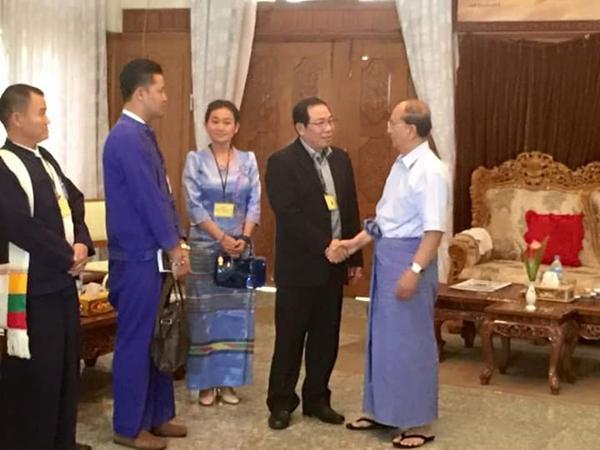 ภาพจาก facebook / Ye Htut