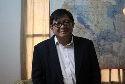 นายสน ชัย (Son Chhay ) ประธาน ส.ส.พรรค และโฆษกพรรค CPP