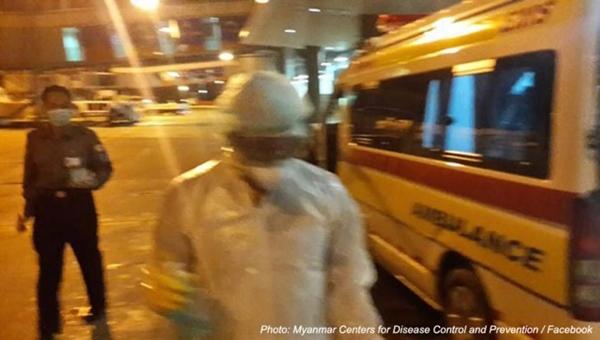 myanmar ebola